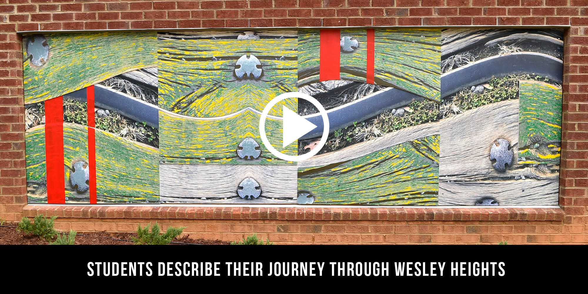 Students describe their journey through Wesley Heights