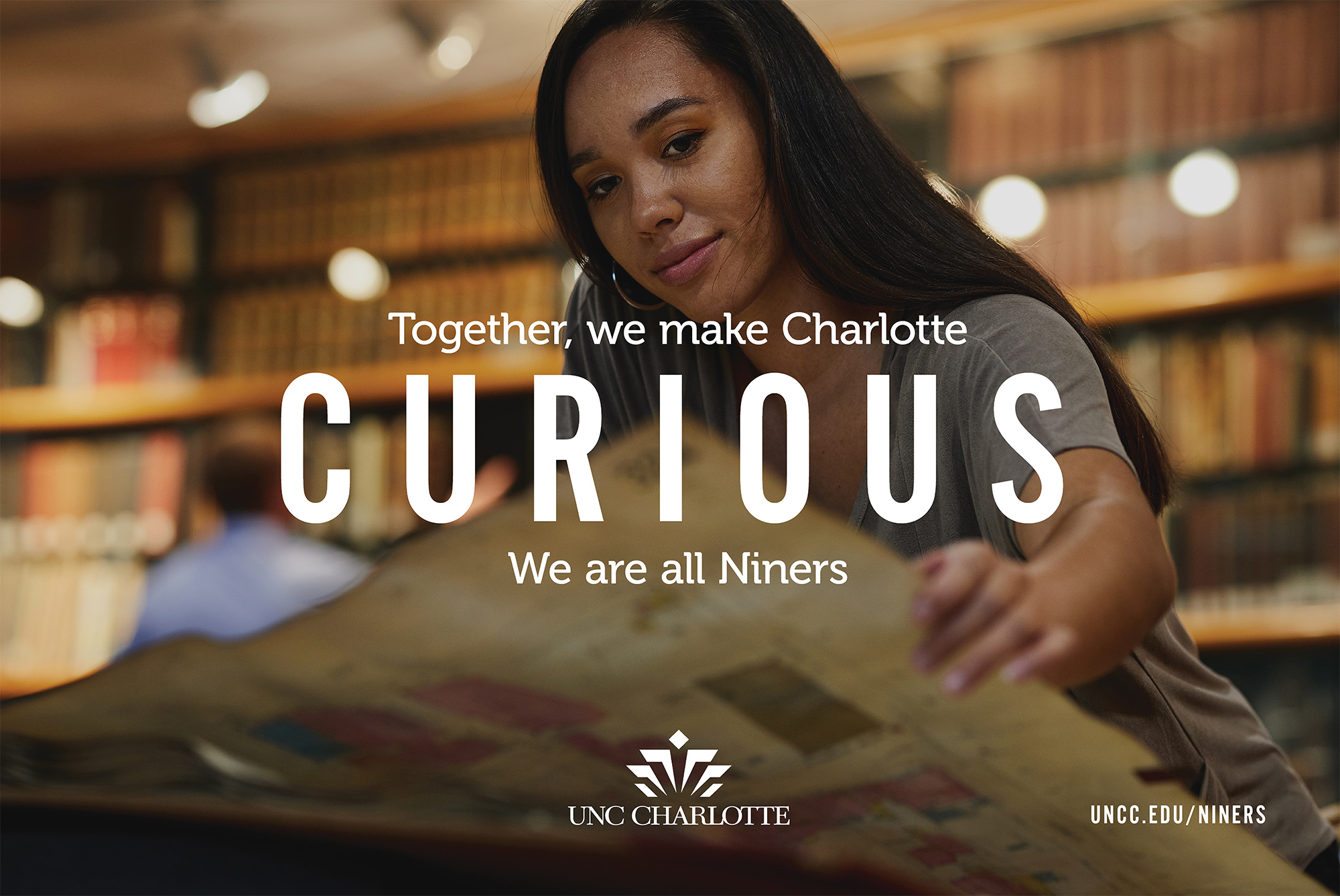 Together, we make Charlotte CURIOUS.