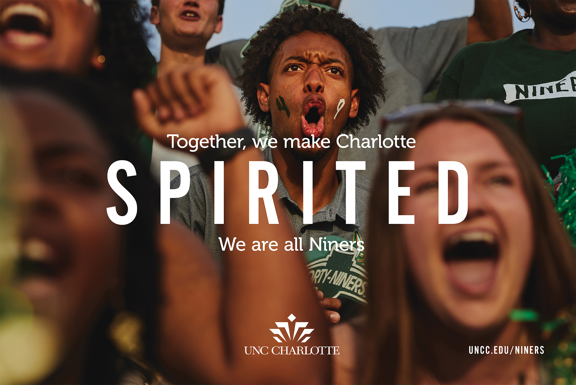 Together, we make Charlotte SPIRITED.