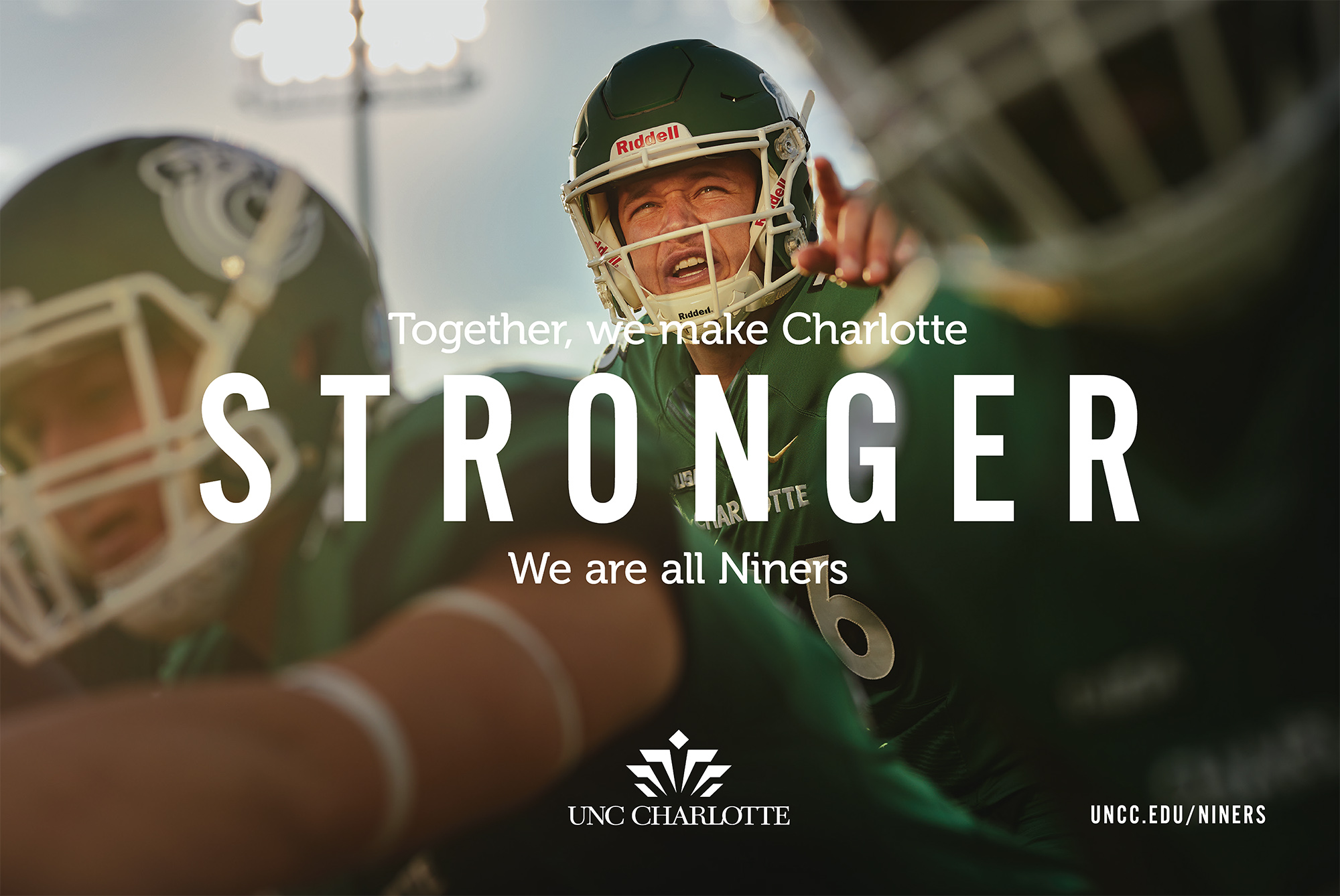 Together, we make Charlotte STRONGER.