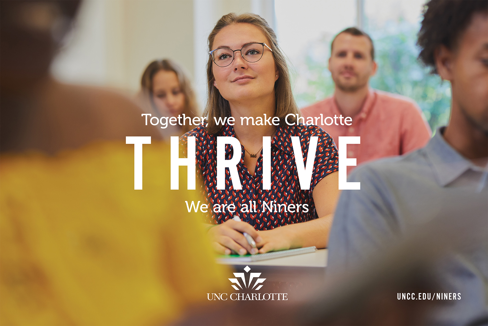 Together, we make Charlotte THRIVE.